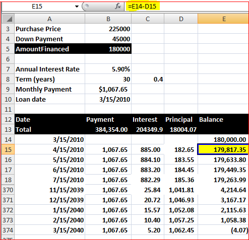 how to stop excel 2010 from rounding up
