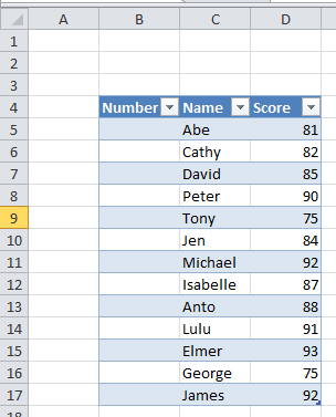 how to return a row number in excel
