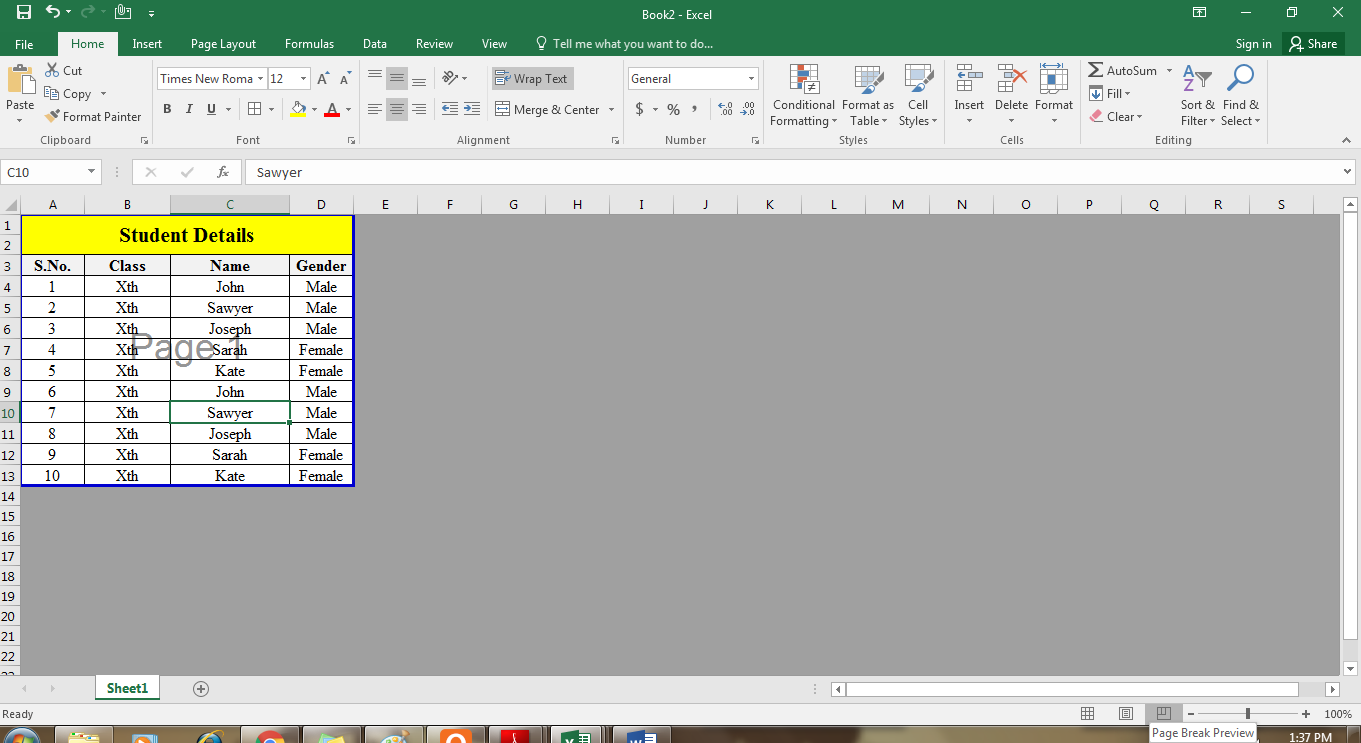 Creating and Opening an Excel Workbook – WizApps