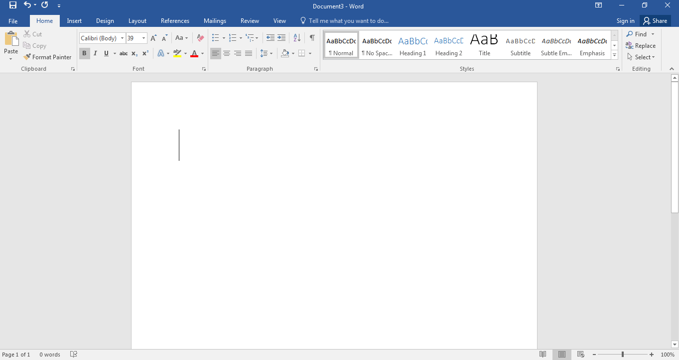 Basics of working with microsoft word 2016 tutorials tree learn 8 baditri Image collections