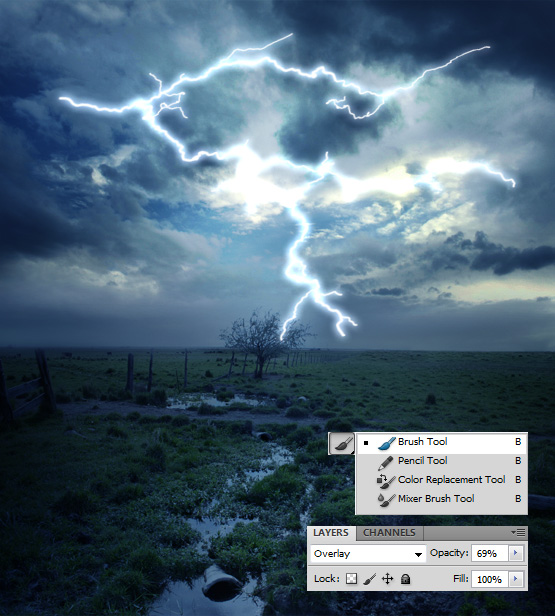 how to make picture more clear on photoshop