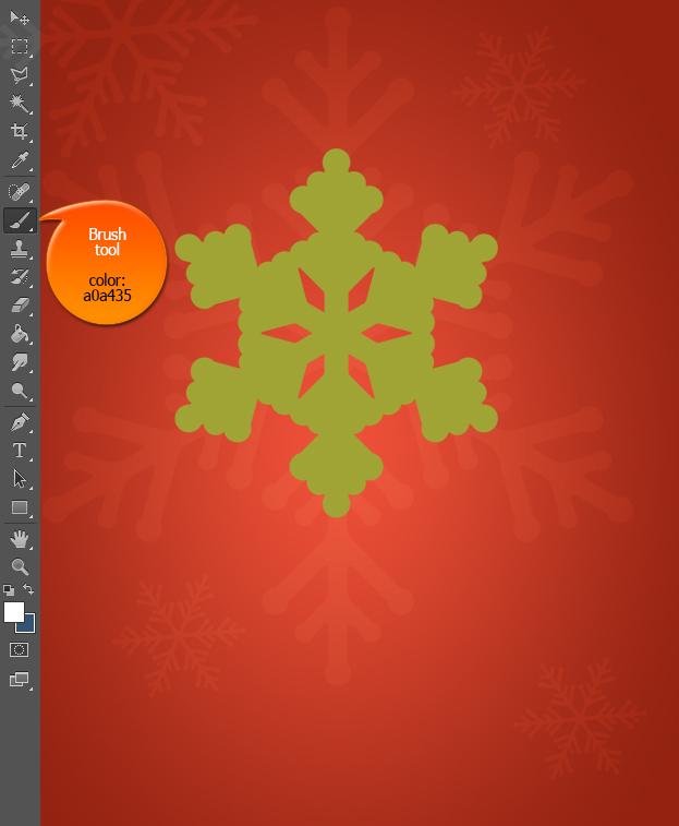 create-a-vintage-snowflake-christmas-card-in-photohsop