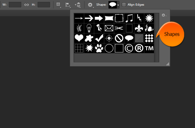 how-to-get-and-add-photoshop-custom-shapes-inside-photoshop