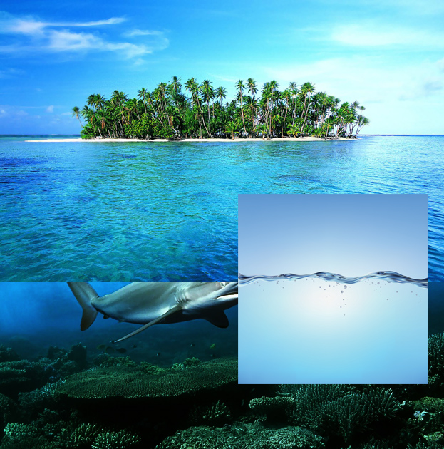 How to Create Amazing Tropical Island Background Image in Photoshop