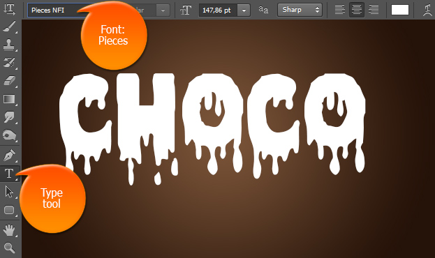 how-to-create-realistic-melted-chocolate-text-effect-in-photoshop