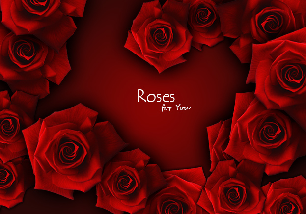 Create a Sweet Valentine's Day Heart of Roses in Photoshop