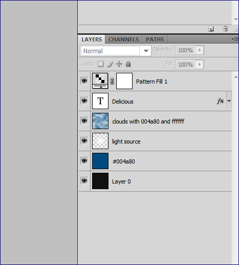 Creating a Light Source in Photoshop
